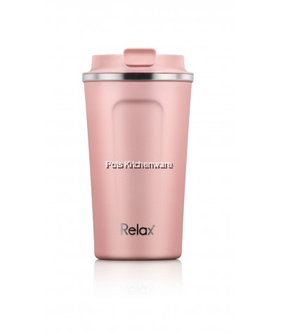 Relax 400ml Stainless Steel 18.8/SUS304 Thermal Tumbler - D5240