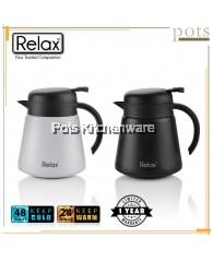 800ml Relax Stainless Steel 18.8/SUS304 Thermal Jug/Carafe - D3080