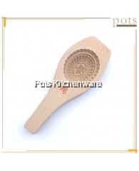 3cm Deep Wooden Ang Ku Mould - BB474