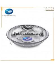 Toffi Stainless Steel Round Shallow Colander - K8600