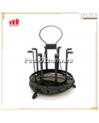 8pcs Mug Holder Iron coated Rack - 3B014