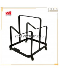 Multi Purpose Iron coated Holder Rack - 3B010