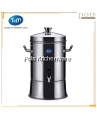 Toffi Stainless Steel 38L Water Storage Dispenser with Tap (Large) - B3438L