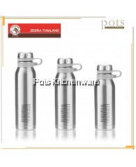 Zebra Wisdom Stainless Steel SUS304 Vacuum Flask Bottle 500ml/750ml/1000ml - Z112630
