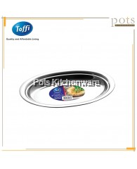 Toffi High Quality Stainless Steel Steam Fish Oval Plate - K8000