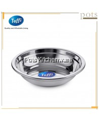 Toffi 2pcs High Quality Stainless Steel Rice Plate (18cm/20cm/22cm/24cm/26cm) - K4818M
