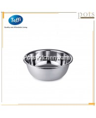 Toffi Stainless Steel Medium Wide Rim Basin (20cm/22cm/24cm/26cm/28cm) - K4420M