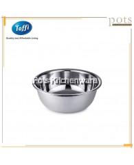 Toffi Stainless Steel Large Wide Rim Basin (30cm/32cm/36cm/38cm/40cm)-K4430M