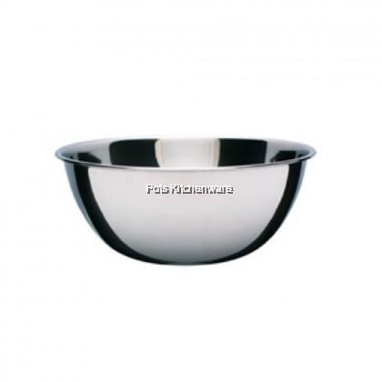 Toffi Stainless Steel Mixing Bowl (12cm/14cm/16cm/18cm/20cm/22cm/24cm) - S318M