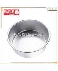 Eagle Aluminium Round Deep Cake Tin/Cake Pan (16cm/18cm/20cm/22cm/24cm) - A0621M