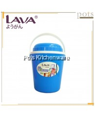 Lava 700ml Mini Ice Bucket/ Drinks Container with Straw Hole - MIB917
