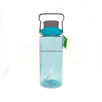 2Litre / 2.8Litre Lava BPA-Free Tritan Water Bottle / Drinking Tumbler with Straw Handle - TB5565M