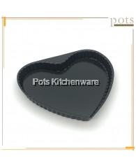 Non-stick Fix-based/Loose-based Heart Shape Cake/ Pie Baking Pan/ Mould (20cm/ 25cm) - NS81M
