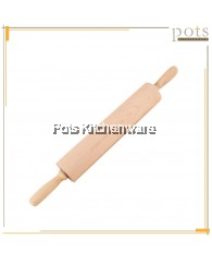 42cmx5cm Movable Wooden Pastry Rolling Pin - 050300112