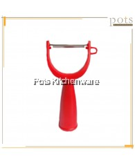 Plastic Handle Fruit/Vegetable Peeler - 1562