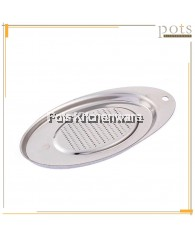 Oval Stainless Steel Ginger Grater - SS585