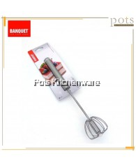 Banquet 29cm Rotating Baking/Cooking Mixing Whisk - BQX281957001