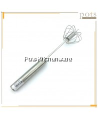 High Quality Stainless Steel Semi-Auto Egg Beater Whisk Tool (27cm-33cm) - K0700M