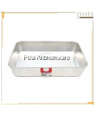 Eagle Ware Aluminium Baking Cooking Multi Purpose Rectangular Tray (30cm-34cm) - A0600