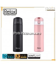 RELAX 18.8 Stainless Steel Thermal Flask (450ml) - D3445M