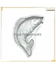 Aluminium Fish Shape Mould (25cm x 13cm) - AL87