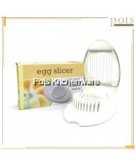 Multi-purpose Hard Boiled Egg Slicer Cutter (17cm) - TC100731