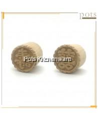 囍XI 壽SHOU Wooden Kuih Chop (5cm) - BB407