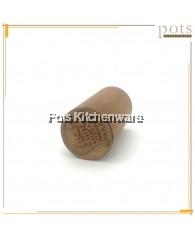招财进宝 ZHAO CAI JIN BAO Wooden Kuih Chop (3.7cm) - BB484