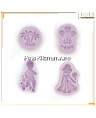 Silicone Fondant and Gum Paste Mould - PL700M
