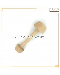 2 Ways Wooden Egg Tart Mould Tamper - BB473