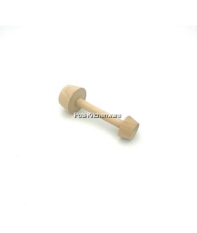 2 Ways Wooden Egg Tart Mould Tamper - BB473