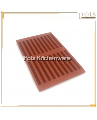 20 Holes Silicone Chocolate Cracker Stick Mould (10.5cm) - PL270