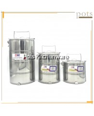 Kiwi Brand / E-Central High Quality Stainless Steel Food Tiffin Carrier Container (12cm/14cm/16cm/18cm) - K4000