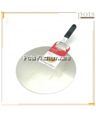 Classic Stainless Steel Pizza Lifter / Oven Spatula (25cm - 30cm) - 03TURTW002MG1018M