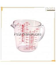 Lion Star Plastic Baking Flour/Sugar/Liquid/Oil/Rice Measuring Cup (600ml/1000ml) - A1GL13M