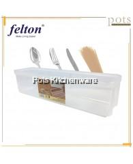 Felton Transparent Cutlery Spaghetti Storage Container (7.5cm/9.3cm) - FCS2300