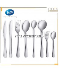 Toffi 3pcs/6pcs Stainless Steel Main Dining Table Cutlery Flatware (Dinner Fork/Table Spoon/Dinner Knife/Dessert Fork/Dessert Spoon/Dessert Knife/Steak Knife/Dessert Soup Spoon/Soda Spoon/Tea Spoon/Tea Fork/Coffee Spoon) - F5000