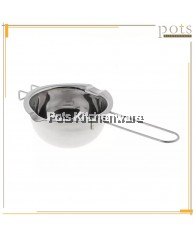 High Quality Stainless Steel Round Bottom Cheese Chocolate Butter Sugar Melting Pot (14cm) - SS592
