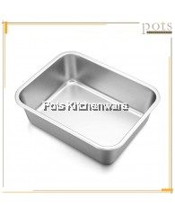 Aluminium Bakery Deep Tray Cake Tin Bread Mould (7.5inch/8.5inch/10.5inch/12.5inch) - A5000