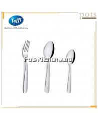 Toffi 6pcs Stainless Steel High Quality High Tea Tableware (Tea Fork/Tea Spoon/Coffee Spoon) - F3000S