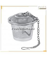 Stainless Steel 304 Reusable Locking Tea Strainer Ball Seasoning Mesh (5cm/6.5cm/8cm) - GDW2080