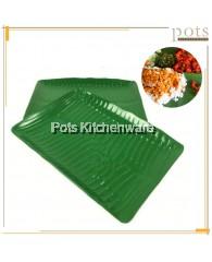 Melamine Banana Leaf Banana Leaves Shaped Plate Pinggan Duan Pisang (8inch/10inch/12inch/14inch) - 8008MGM