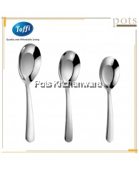 Toffi High Quality Stainless Steel Soup Dessert Tong Shui Spoon - F1040