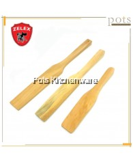 Zelex Natural Wood Wooden Kitchen Rectangle Rice Ladle Kayu Pengacau Nasi (12inch/15inch/17inch) - 19L10