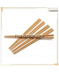 5 Pairs / 50 Pairs Wooden Bamboo Plain Chopstick No Design Printed (24cm) - KY18/Q853