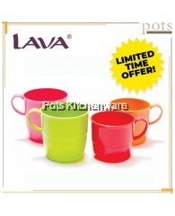 12 PCS OFFER VALUE PACK Lava BPA Free 8oz 11.5oz Colorful Plastic Stackable Water Drinking Cup - TB262M