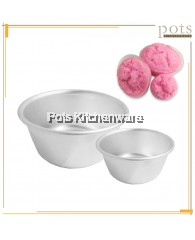 6 PCS Aluminium Small Huat Kuih Rice Lo Mai Gai Multi-purpose Steaming Bowl (8cm/9cm/10cm/11cm) - AL210M