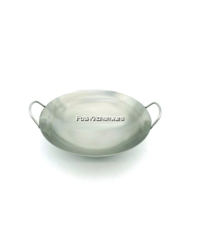 Horse Brand Best Quality Stainless Steel 18CR Mini Small Size Wok (20cm/22cm/26cm) - 2120M