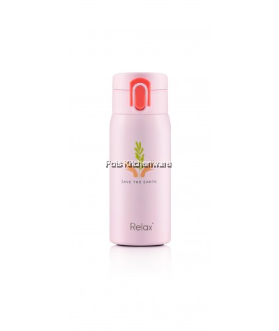 Relax 350ML SUS304 18.8 Stainless Steel Lightweight Thermal Flask Bottle - D3835