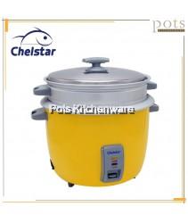 1 YEAR WARRANTY Chelstar 1.0Litre/1.8Litre/2.8Litre Aluminum Automatic Cut Off Keep Warm Electric Rice Cooker - CRC010M